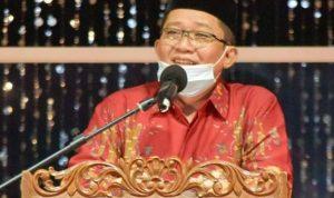 Bupati Tasikmalaya, Ade Sugianto menutup kegiatan Musabaqoh Tilawatil Qur'an (MTQ) ke-37 2021 tingkat Kabupaten Tasikmalaya. Dok: Instagram @pemkabtasik.
