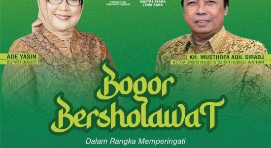 Pemerintah Kabupaten (Pemkab) Bogor akan peringati Hari Santri Nasional tahun 2021 dengan acara Bogor Bersholawat. Dok: bogorkab.go.id.