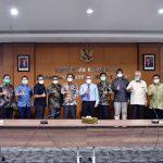 Komisi I DPRD Jawa Barat melalui Direktorat Jendral Kekayaan Negara melakukan kunjungan kerja ke Kementerian Keuangan Republik Indonesia. Dok: dprd.jabarprov.go.id.